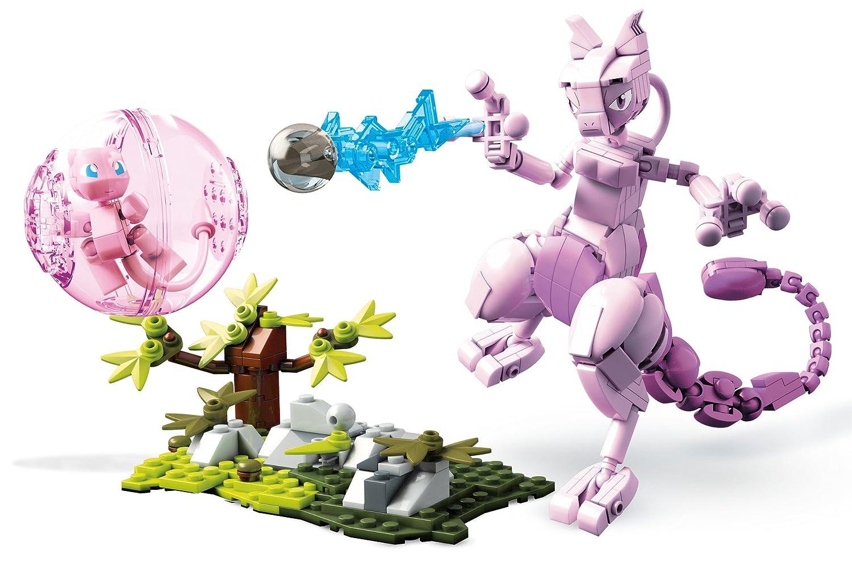 Mega Construx Pokemon Mew Vs. Mewtwo Clash Building Set Fisher Price / Mattel Canada FVK77