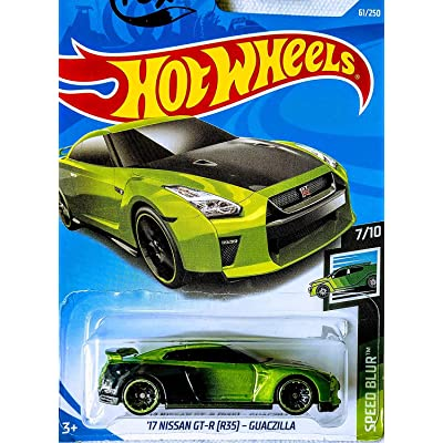 Hot Wheels 17 Nissan GT-R (R35) Guaczilla 61/250 Speed Blur 7/10: Kitchen & Dining