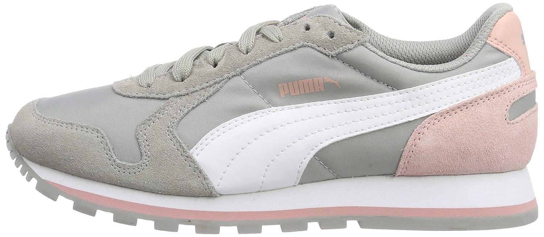 Puma Unisex-Erwachsene St Runner Nl Niedrig-Top, Pink grau Grau (Drizzle-Weiß-coral Cloud Pink Niedrig-Top, 21) 3816ba