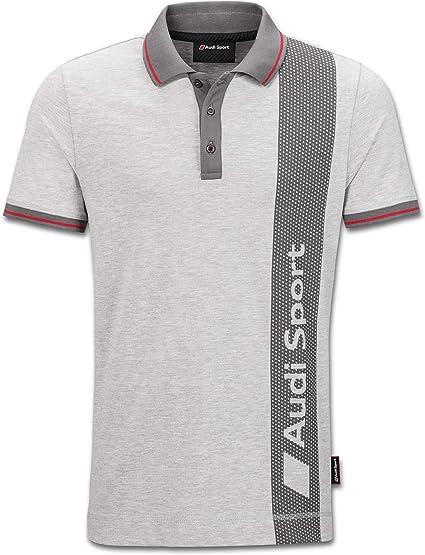 Audi Original Sport Polo para Hombre, Gris Small: Amazon.es: Coche ...
