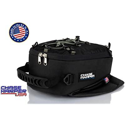 Chase Harper USA 450M Magnetic Tank Bag, Water-Resistant, Tear-Resistant, Industrial Grade Ballistic Nylon with Anti-Scratch Rubberized Polymer Bottom, Super Strong Neodymium Magnets: Automotive