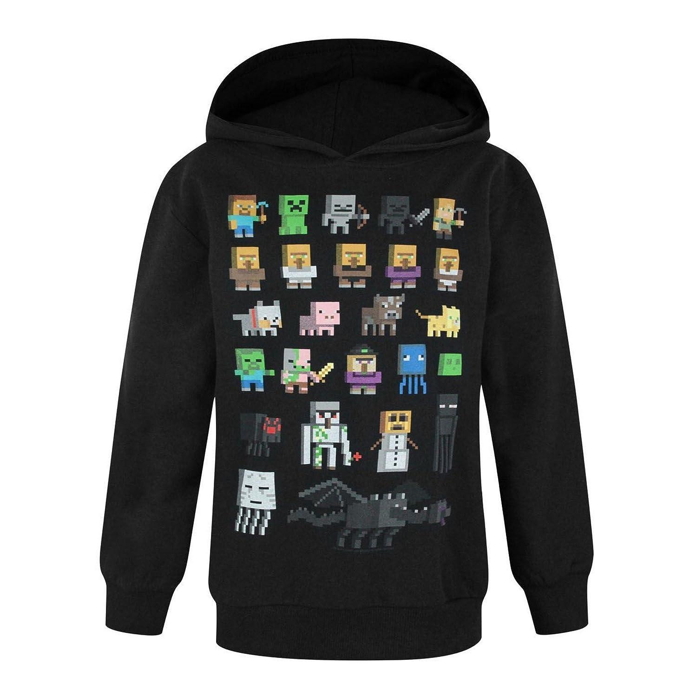 Minecraft Childrens Boys Sprites Hoodie