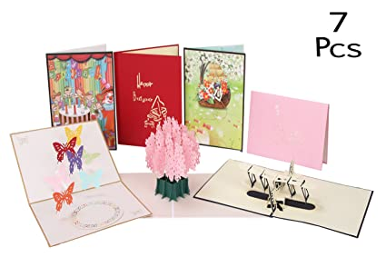 Birthday Cards Pop Up Happy Card Gifts For Women Anniversary Dating