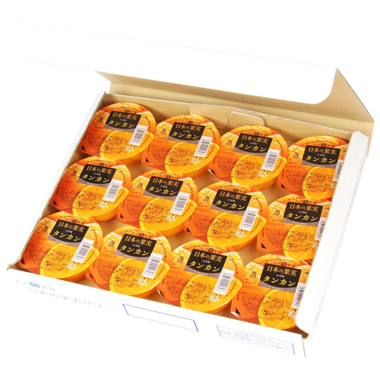 【九州旬食館】 日本の果実 九州産 タンカン ゼリー 155g× 12個 詰め合わせ セット