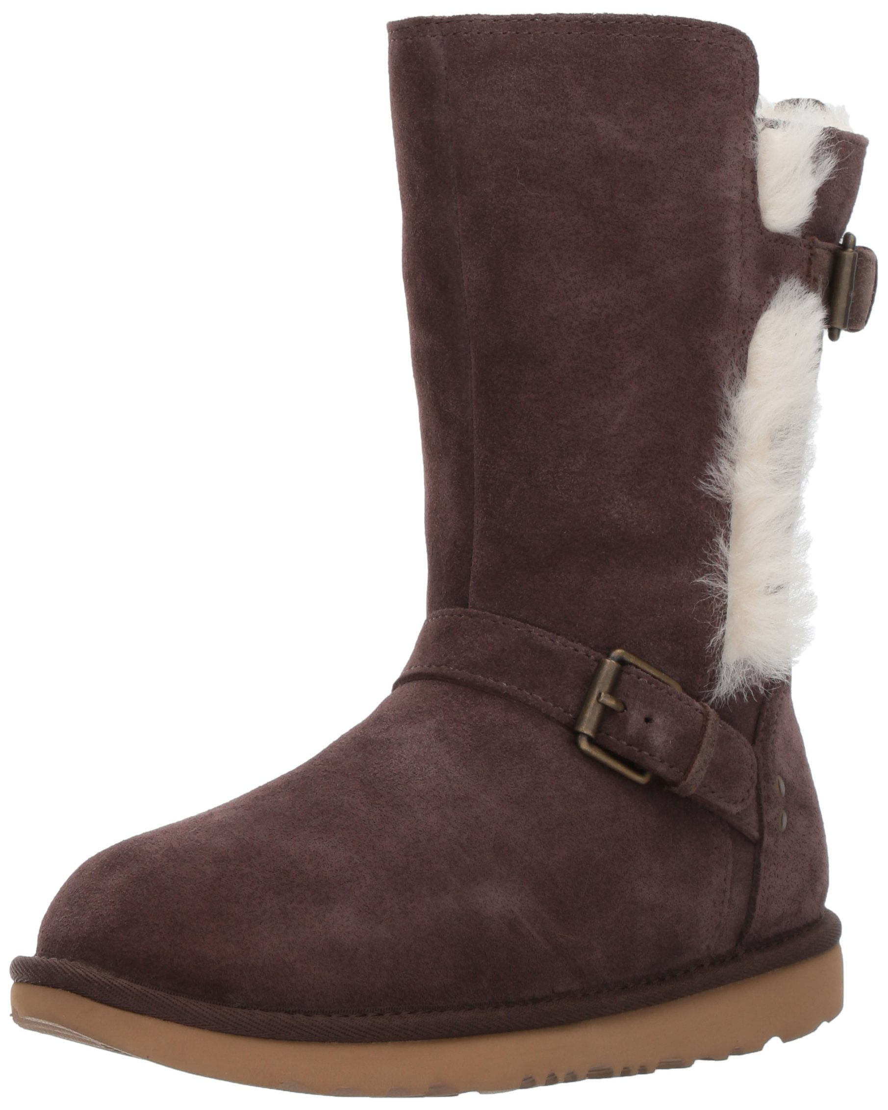 UGG Girls K Magda Boot, Chocolate, 12 M US Little Kid