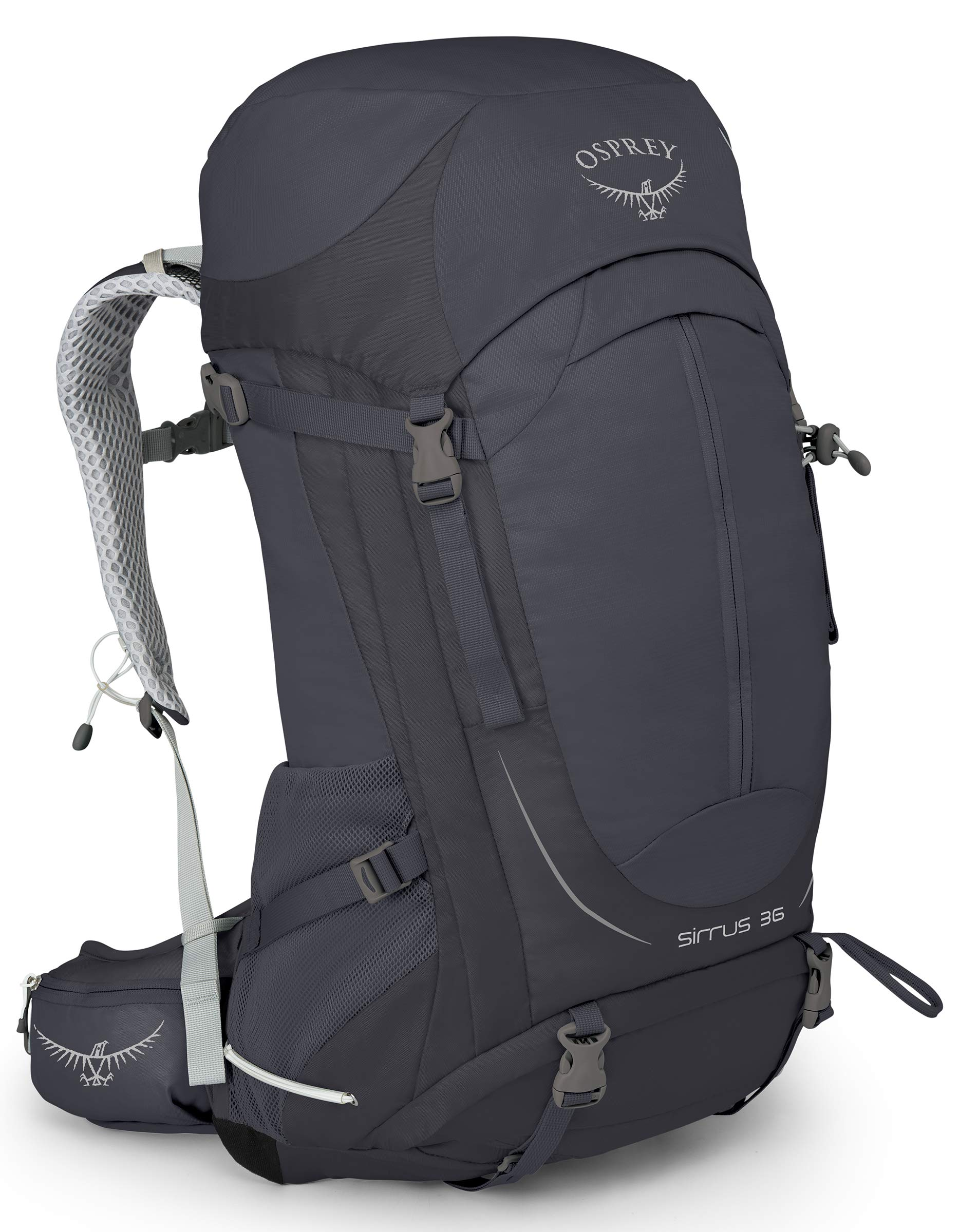 Osprey Packs Sirrus 36 Hiking Backpack, Oracle Grey, X-Small/Small