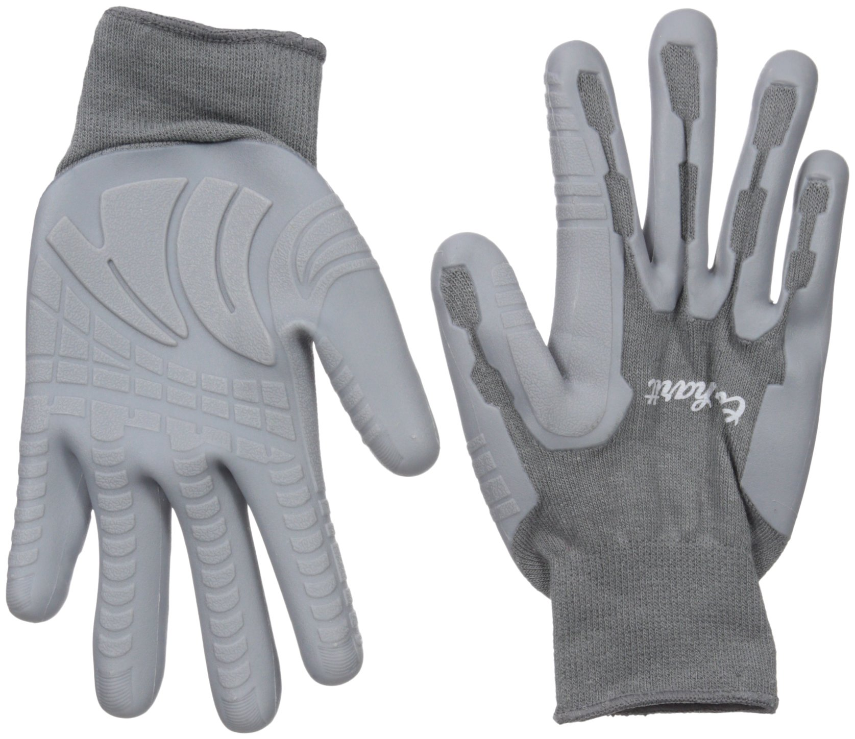 Carhartt Women's Durable Pro Palm Work Glove With Extreme Grip, Grey, S
