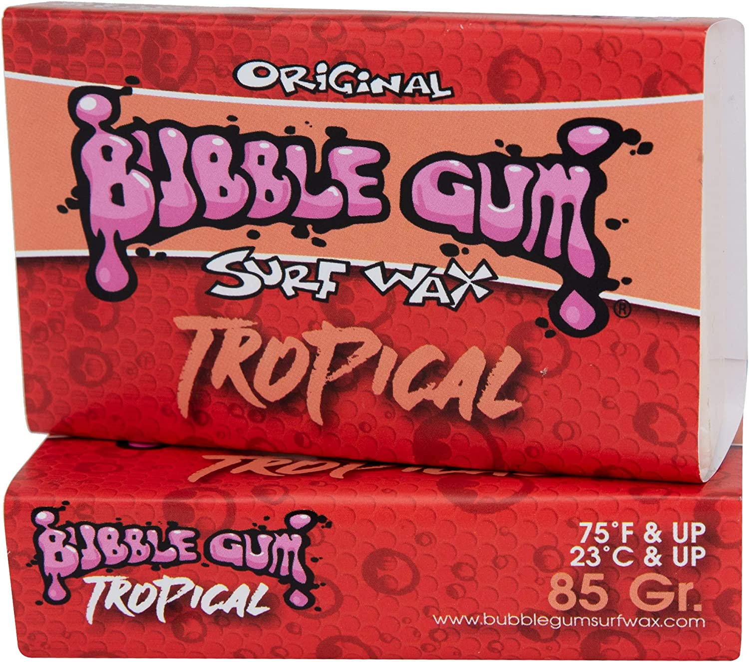 Bubble Gum Surf Wax 74/° and Above Tropical