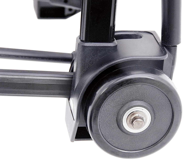 Kantek LGLC110 Ultra-Lite Folding Cart 9 3//4 x 11 Platform Black 150lb Capacity
