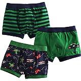 Jojobaby Baby Toddler Kids 2T-7T Boys Boxer Brief 3-pack Underwear Set