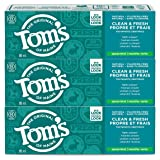 Tom's of Maine Clean & Fresh Fluoride-Free natural toothpaste, Spearmint, 85 ml, 3-Pack