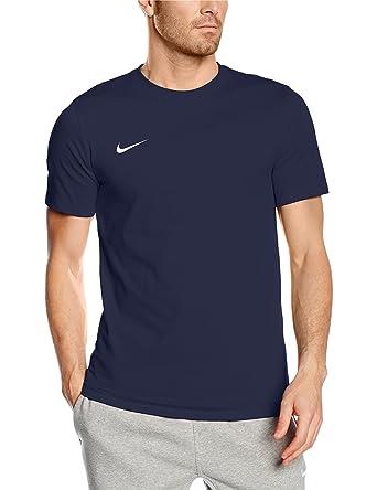 bbe562b1 Nike Herren T-shirt Club Blend, Blau (obsidian/obsidian/white)
