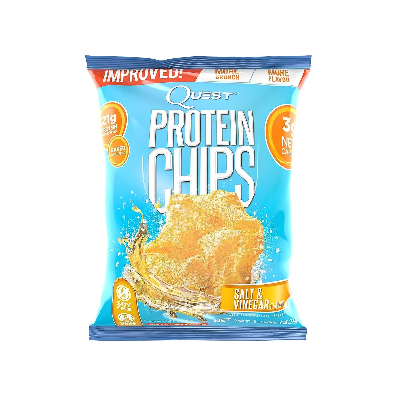 Protein Chips - Salt & Vinegar 1.125 oz (32 grams) Bag(S): Amazon.es: Salud y cuidado personal
