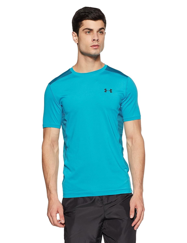 (アンダーアーマー) UNDER ARMOUR ヒットヒートギアSS(トレーニング/Tシャツ/MEN)[1257466] B01M9DLWNL XX-Large|Blue Shift/Stealth Gray Blue Shift/Stealth Gray XX-Large