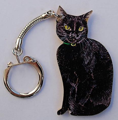 Gato negro Llavero - C1K