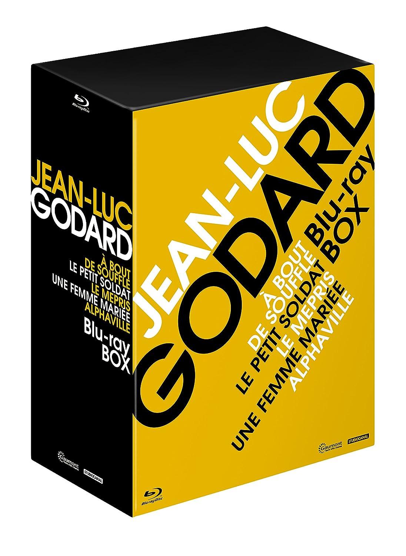 ジャン=リュックゴダール Blu-ray BOX Vol.1/ヌーヴェルヴァーグの誕生 B073WFKYTN