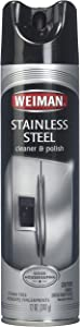 Weiman Stainless Steel Cleaner & Polish Aerosol - 12 oz - 2 pk