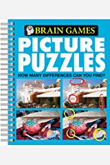 Brain Games Picture Puzzles Spiral-bound