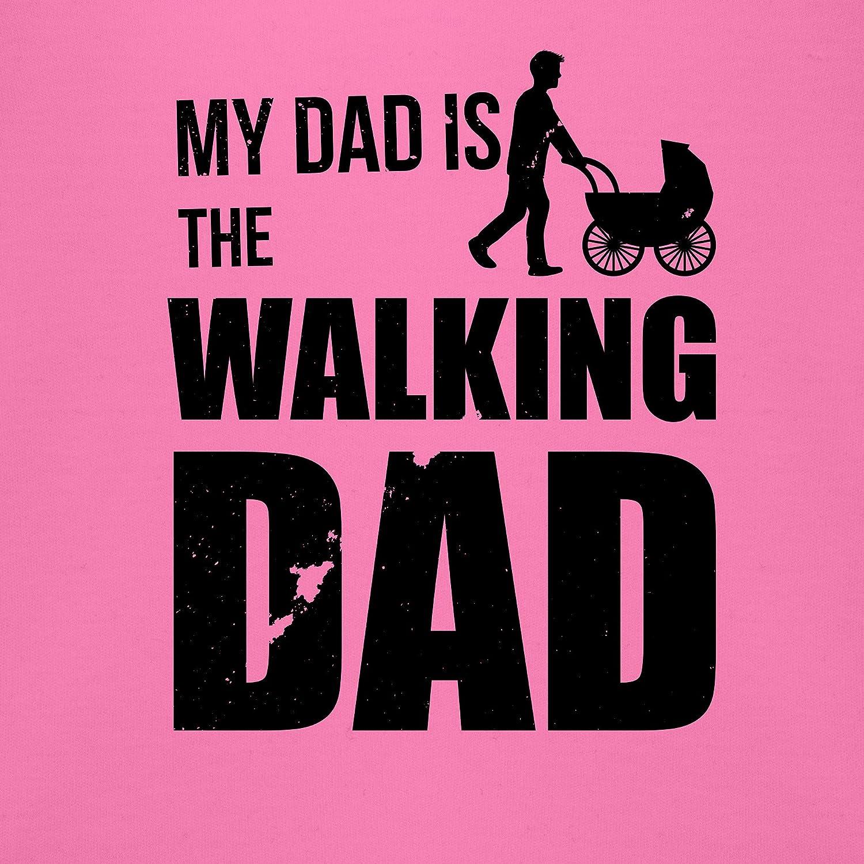 Spr/üche Baby My Dad is The Walking Dad Baby Body Kurzarm f/ür Jungen und M/ädchen Shirtracer
