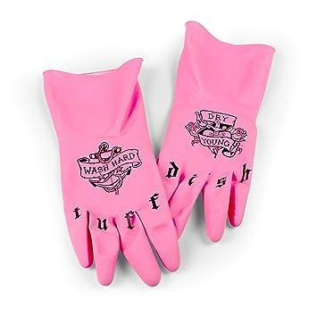 Amazon.com: Fred TUFF DISH Tattooed Dish Gloves: Kitchen & Dining