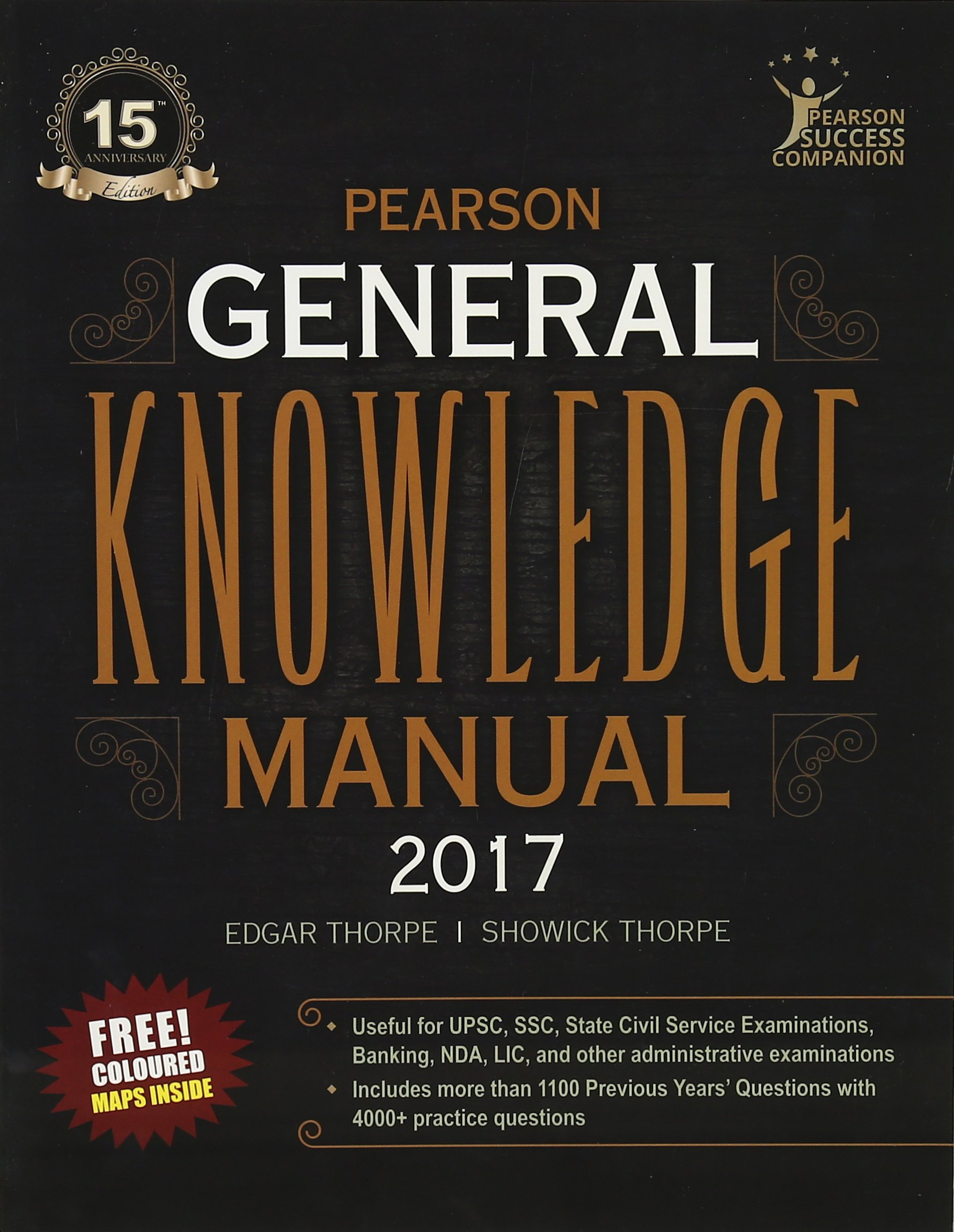 Buy The Pearson General Knowledge Manual 2017 (Old Edition) Book