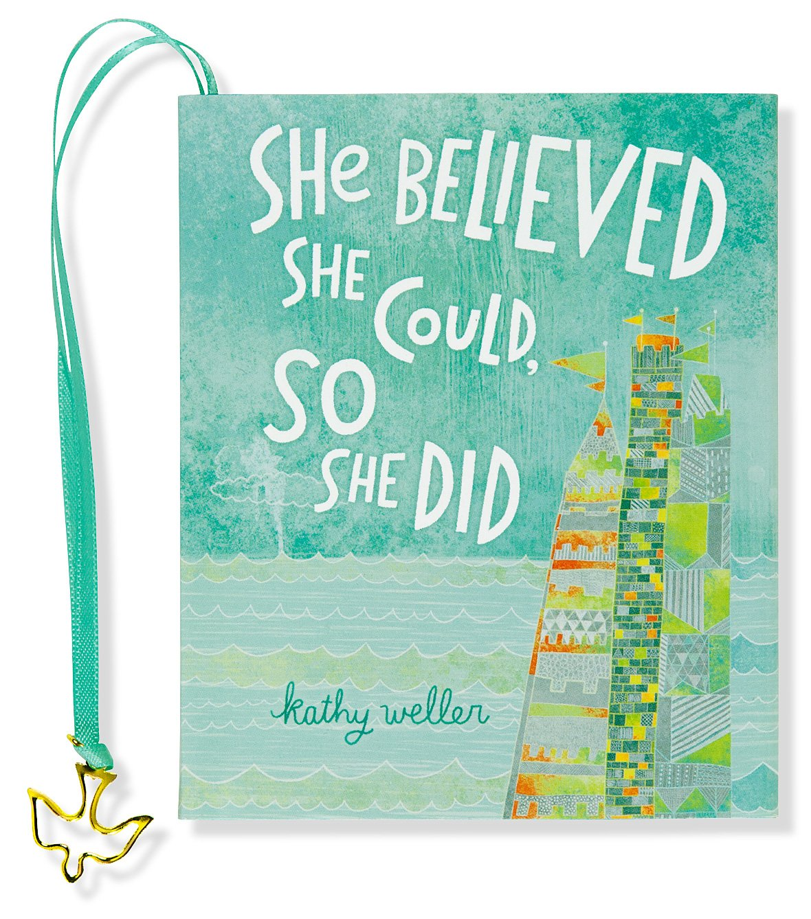 She Believed Could mini book product image
