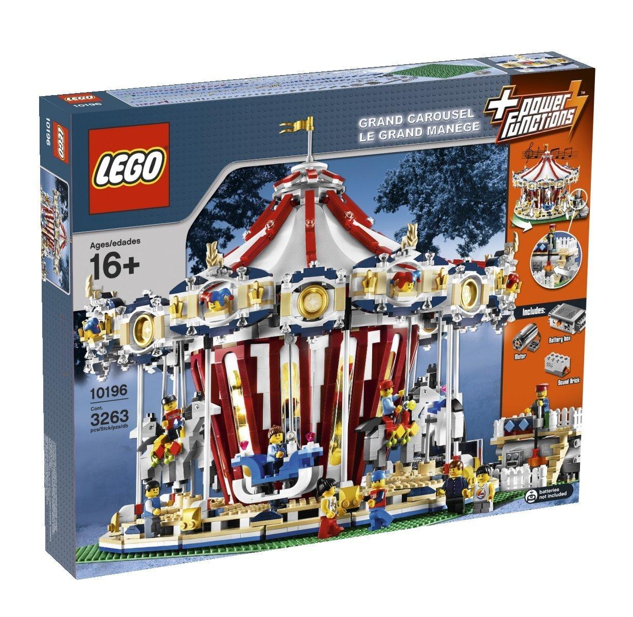 レゴ (LEGO) クリエイターメリーゴーランド 10196   B001USHS9C
