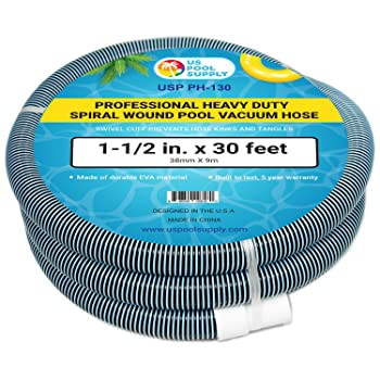 The US Pool Supply Vacuum Hoses Are Known For Their Quality And Affordable Prices It Is Made Of Very Durable EVA Plastic That Resistant To