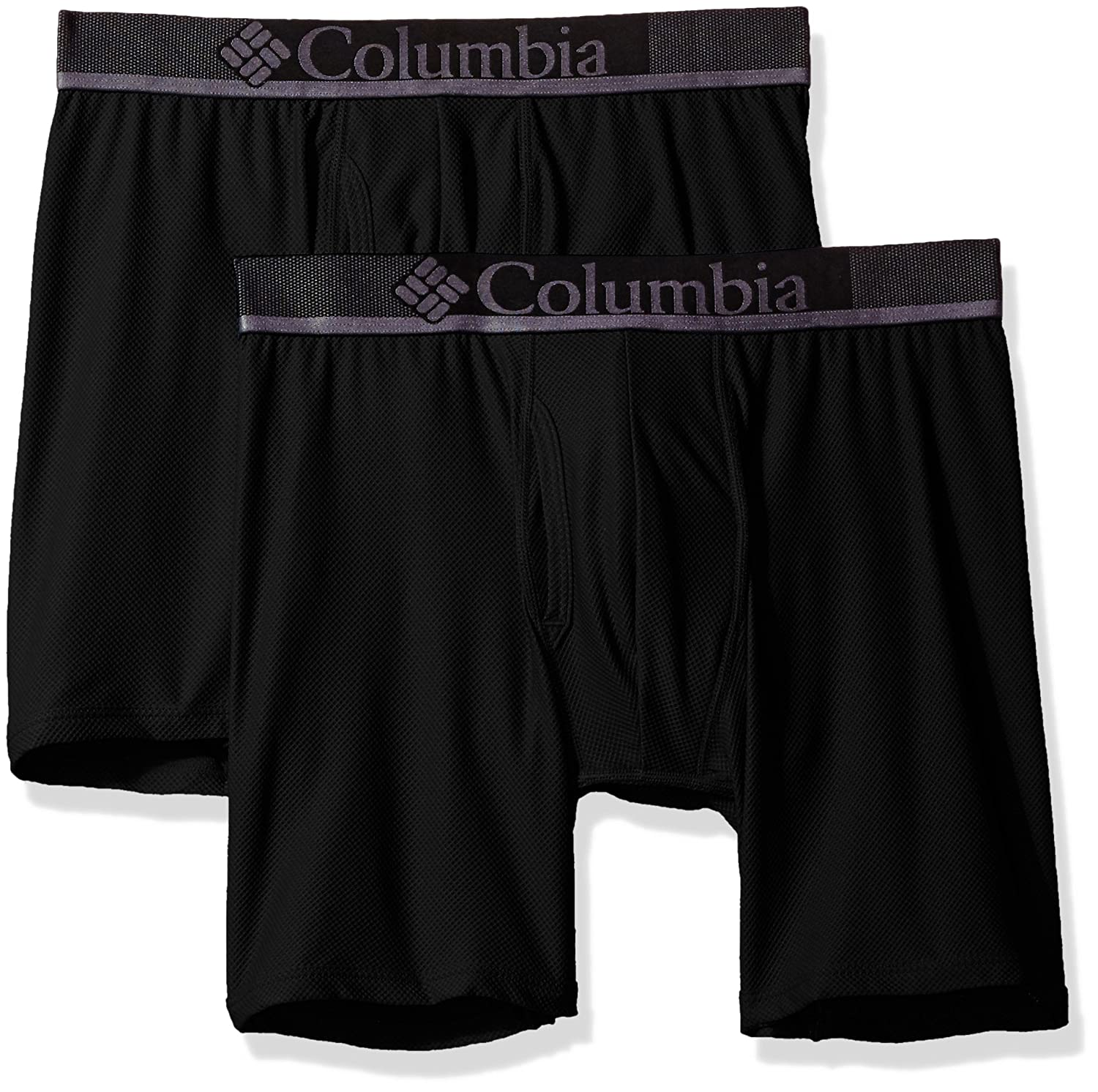 Columbia Mens Diamond Mesh 2 Pk Boxer Brief