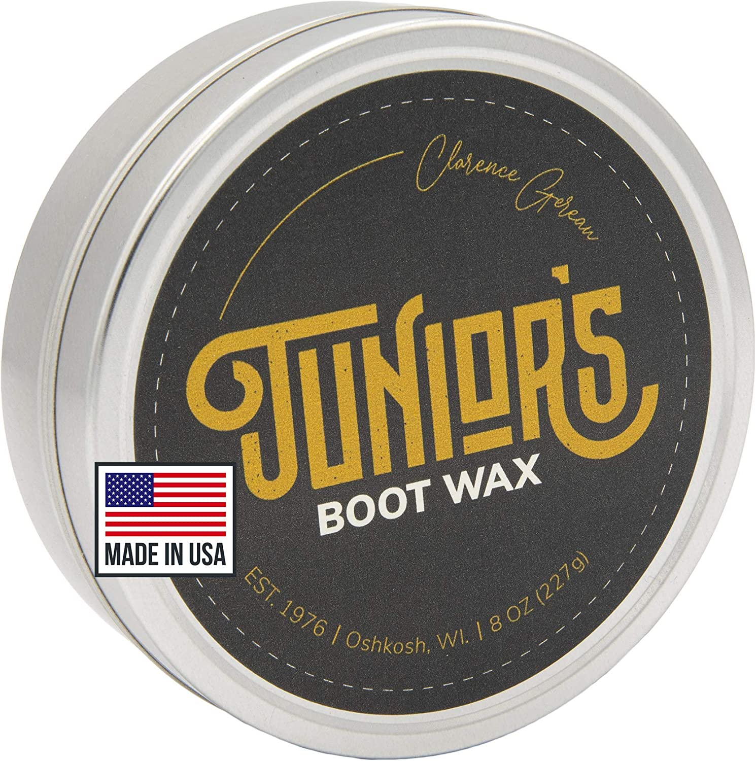 Blended Waxes, Inc, Junior's Boot and Leather Care Wax | Boot and Shoe Weatherproofing Protectant Wax | Waterproof Wax: Shoes