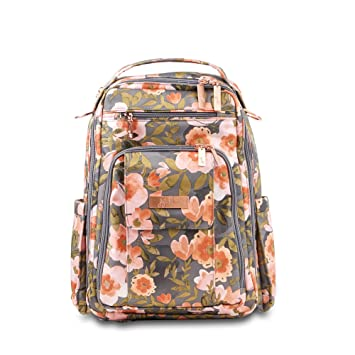 0c44f90760fc JuJuBe Be Right Back Multi-Functional Structured Backpack/Diaper Bag -  Whimsical Whisper