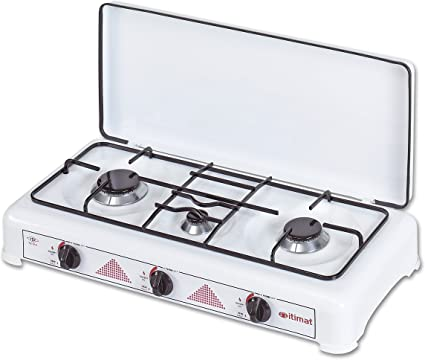 3 Quemadores GLP Cocina de gas con tapa I-16 2012, – itimat ...