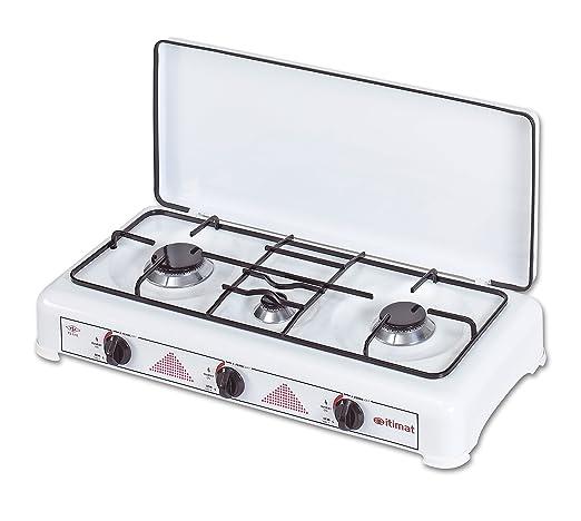 3 Quemadores GLP Cocina de gas con tapa I-16 2012, - itimat ...