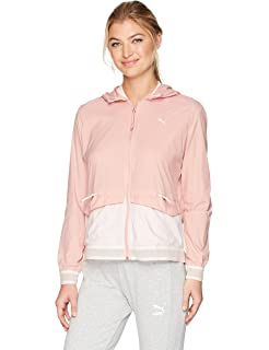ed999f8a562b PUMA Women s Spark 3 4 Zip Windbreaker at Amazon Women s Clothing store