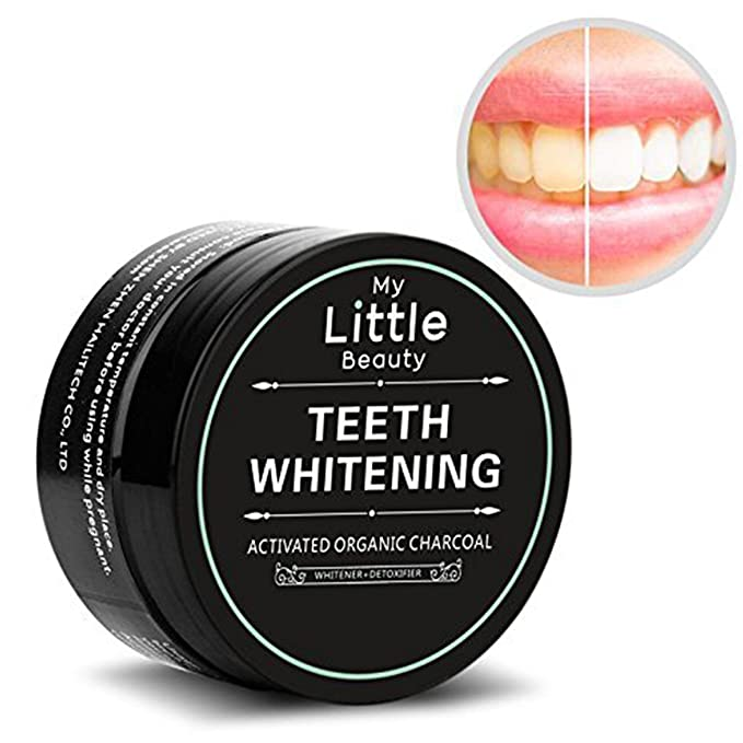 35 opinioni per MY LITTLE BEAUTY Polvere Sbiancante per Denti al Carbone Attivo Sbiancante Denti