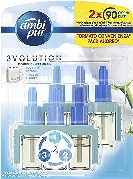 Ambi Pur 3volution Elektrische Luchtverfrisser Met Twee Navullingen 2 X 21 Ml Blauw Amazon Nl