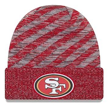 A NEW ERA NFL Sideline Gorro para 2018 - San Francisco 49ers  Amazon ... 45eaa26bf7b