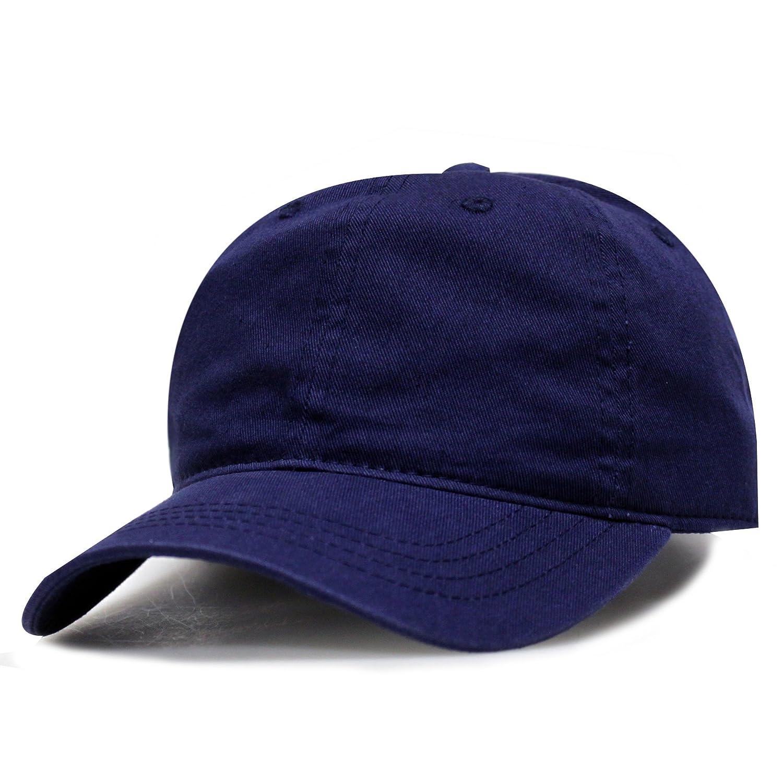 City Hunter C103 Blank Baseball Caps - Navy