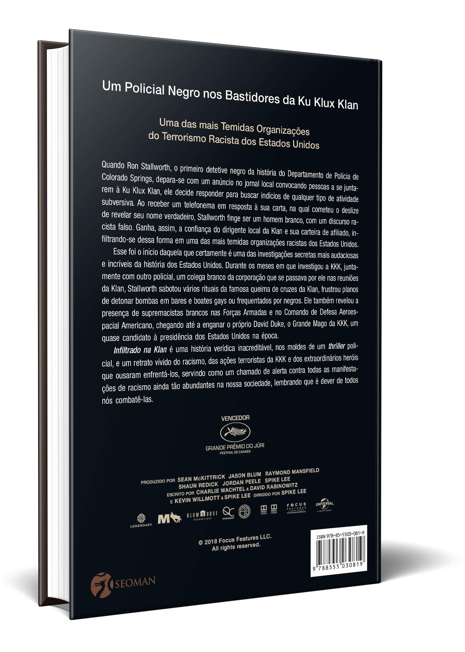 Infiltrado na Klan: Amazon.es: Ron Stallworth: Libros