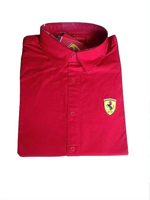 Ferrari/Fórmula 1 – Mens Long Sleeve Camisa oberhemd manga larga rojo Rojo rojo Talla:xx-large: Amazon.es: Deportes y aire libre