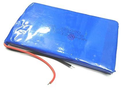 INVENTO 3.7V 1200 mAh Polymer Li ion Battery Lipo for GPS PDA DVD iPod Tablet PC Drones
