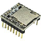 Rasbee TFカード Uディスクミニ MP3プレーヤー オーディオ 音声 モジュールボード Arduino DFPlayのため 1個