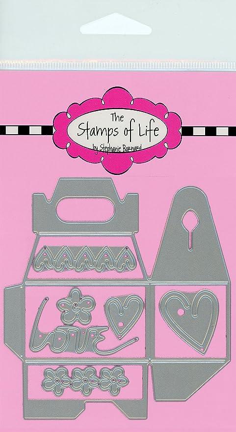 Amazon.com: Los sellos de la vida Mini mango caja Die Cuts ...