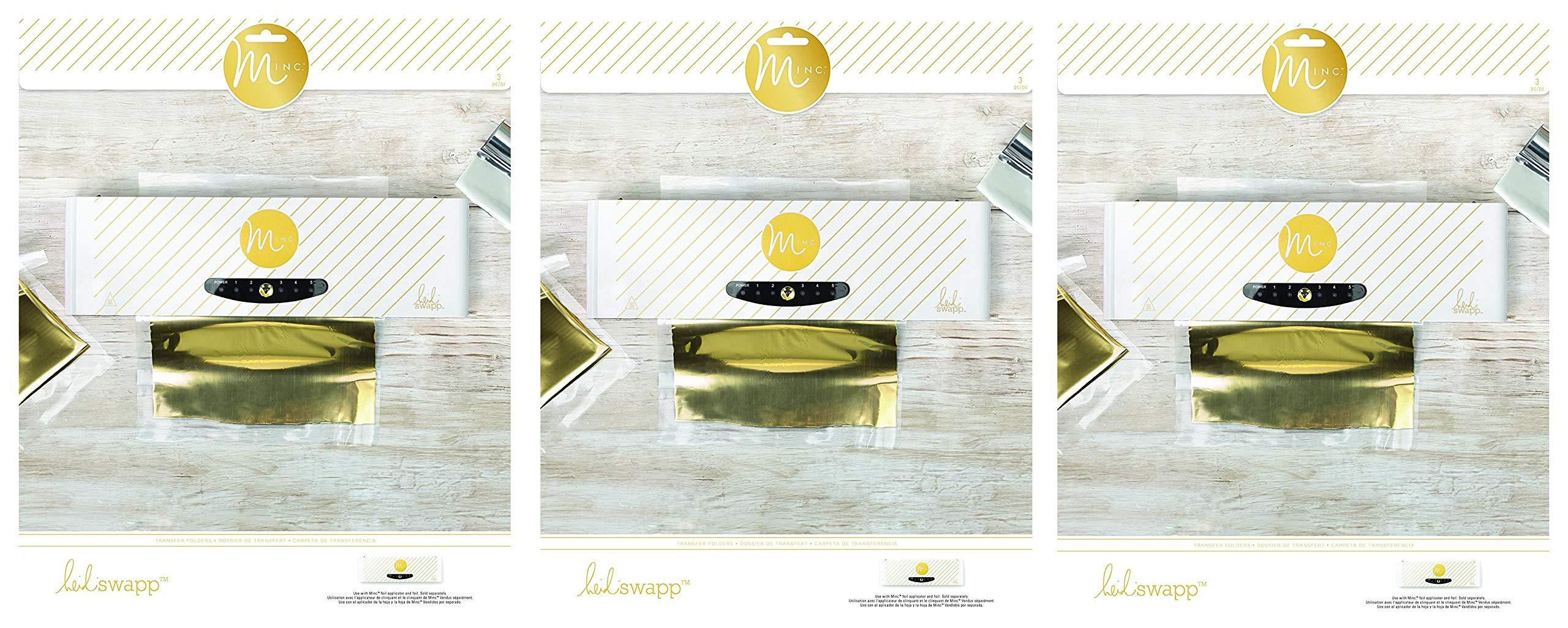 /2/Carpetas /15,88/cm x 15,88/cm/ Heidi Swapp Minc Foil Transferencia Carpetas/