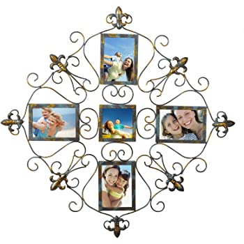 Amazon.com - WOLTU Vintage Style Metal Collage Picture Frame ...