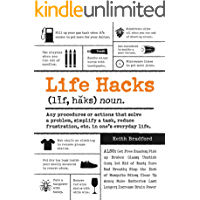 Life Hacks: Any Procedure or Action That Solves a Problem, Simplifies a Task, Reduces Frustration, Etc. in One's Everyday Life (English Edition)
