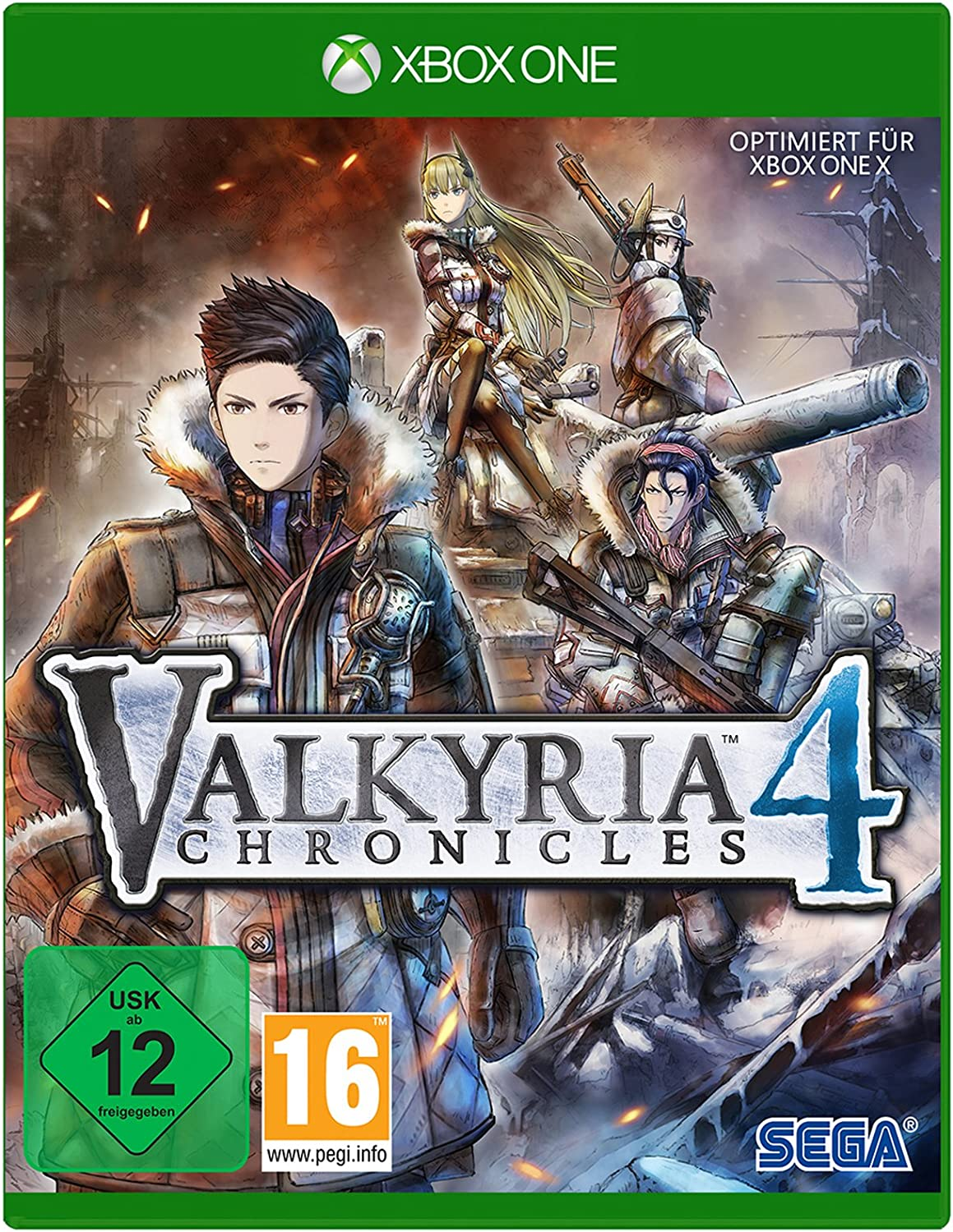 GAME Valkyria Chronicles 4, Xbox One vídeo - Juego (Xbox One, Xbox One, TRPG (Tactical Role-Playing Game), T (Teen)): Amazon.es: Videojuegos