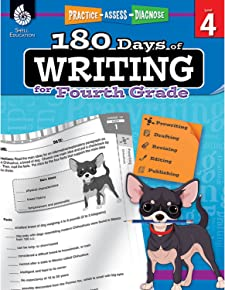 180 Days of Writing for Fourth Grade (180 Days of Practice)