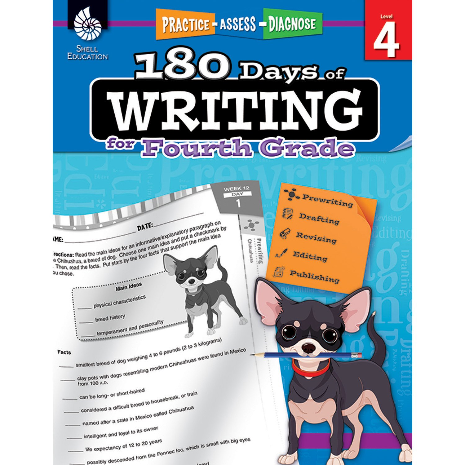 Amazon com: 180 Days of Writing for Fourth Grade - An Easy-to-Use