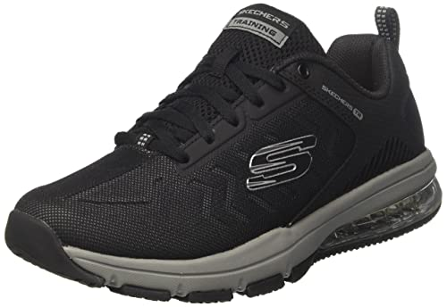 Skechers Skech-Air Degree, Zapatillas para Hombre, Negro (Black/Grey), 43 EU: Amazon.es: Zapatos y complementos